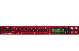Focusrite Clarett 8Pre Mic Preamp/Audio Interface Overview by...