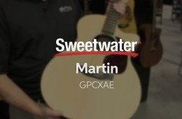 Summer NAMM 2016: Martin GPCXAE Acoustic-electric Guitar