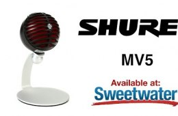 Shure MV5 USB Microphone Overview by Sweetwater