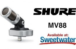 Shure MV88 Mid-side Microphone for iOS Overview by Sweetwater