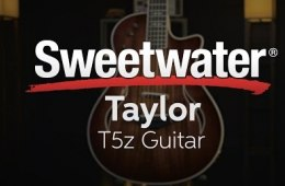 Taylor T5z Acoustic-electric Guitar Demo