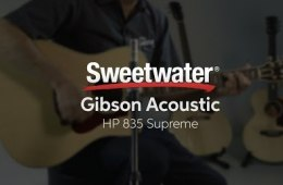 Gibson Acoustic HP 835 Supreme Acoustic-electric Guitar Demo