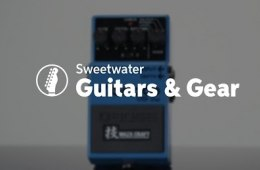 BOSS VB-2W Waza Craft Vibrato Pedal Review by Sweetwater