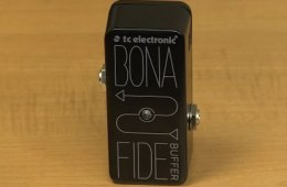 TC Electronic BonaFide Mini Buffer Pedal Demo by Sweetwater