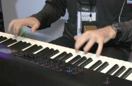 Roland RD-800 88-key Stage Piano Demo – Sweetwater at Winter NAMM 2014