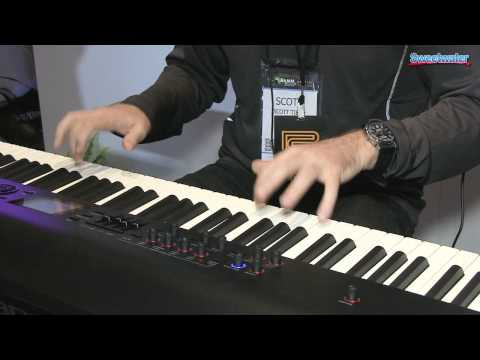 roland rd 800 88 key stage piano demo sweetwater at winter namm 2014 sweetwater. Black Bedroom Furniture Sets. Home Design Ideas