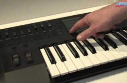 Korg Triton Taktile Series Keyboard Controller/Synthesizer Demo...