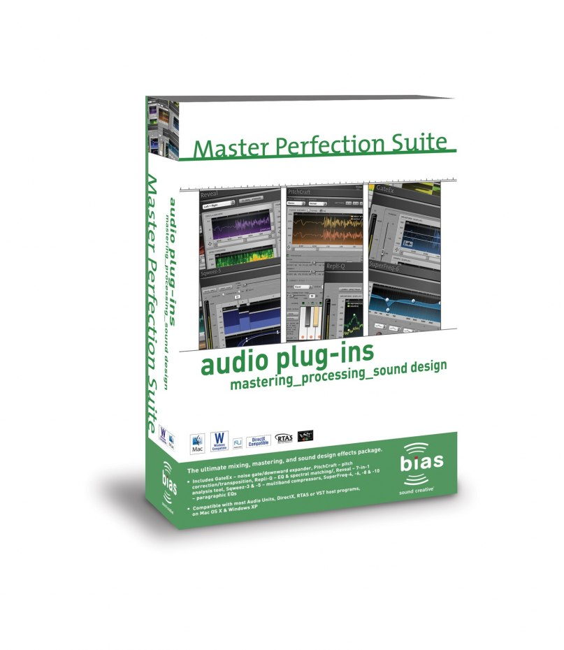 BIAS Ships Master Perfection Suite for Mac and Windows