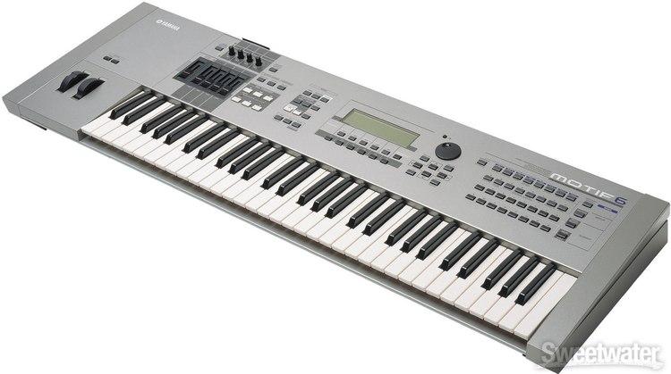 Yamaha motif 6 review for Yamaha motif keyboard