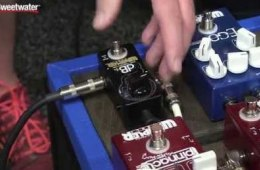 Summer NAMM 2015: Wampler dB+ Boost Pedal Demo by Sweetwater