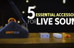 5 Essential Accessories for Live Sound