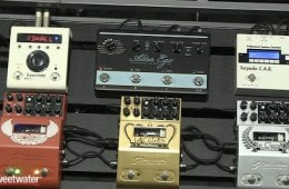 Winter NAMM 2016: Two Notes Le Clean, Le Crunch, and Le Lead Preamp Pedals