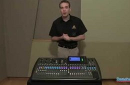 Behringer X32 Digital Mixing Console Overview