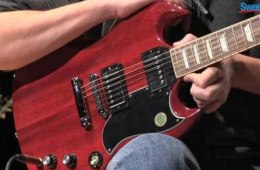 Gibson SG Standard Electric Guitar Demo