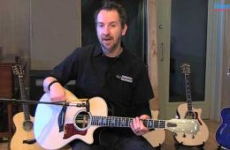 Taylor 812ce Grand Concert Acoustic-electric Guitar Demo