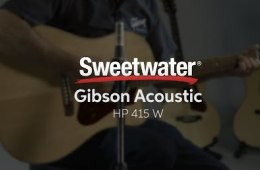 Gibson Acoustic HP 415 W Acoustic-electric Guitar Demo