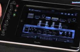 Behringer iS202 iPad Dock Overview