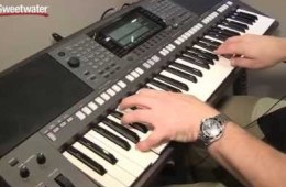 Summer NAMM 2015: Yamaha PSR-S970 Arranger Keyboard Demo by Sweetwater