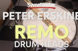 Peter Erskine on Remo Drum Heads