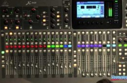 Behringer X32 Digital Console Interface Overview
