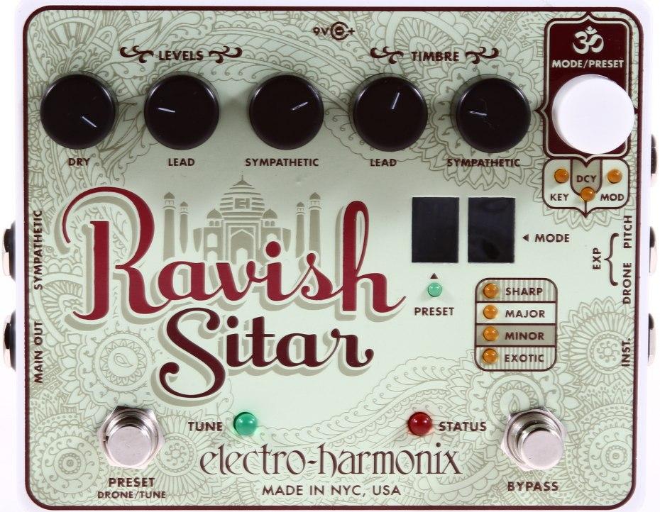 electro harmonix ravish sitar review sweetwater. Black Bedroom Furniture Sets. Home Design Ideas