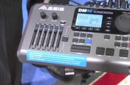 Alesis DM10 Pro Module Winter NAMM 2010 Demo