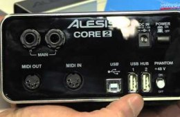 Alesis Core Series Overview – Sweetwater at Winter NAMM 2014