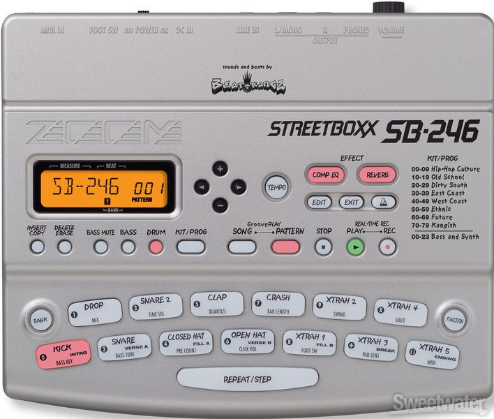 streetbox drum machine