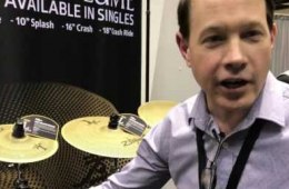 Sweetwater at PASIC 2016: Zildjian Low Volume Cymbals