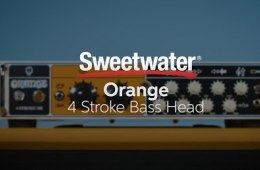 Orange 4 Stroke Bass Head Demo