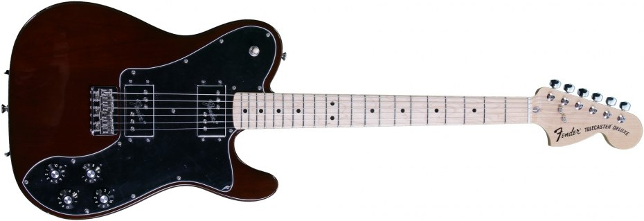 Fender  72 Telecaster Deluxe (Walnut Stain) - Guitar of the Day ... 9b0565b7f29