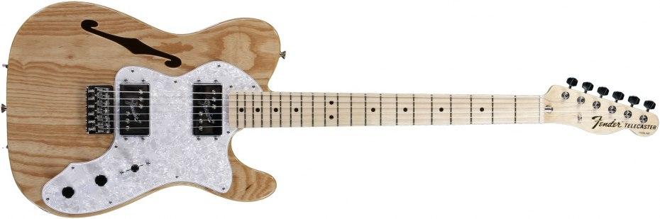 fender 39 72 telecaster thinline natural guitar of the day. Black Bedroom Furniture Sets. Home Design Ideas