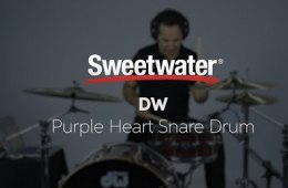 DW Purple Heart Snare Drum Demo by Sweetwater