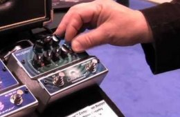 Sweetwater at Winter NAMM 2012- Rivera Sustain Shaman Compression...