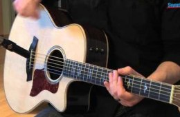 Taylor 816ce Grand Symphony Acoustic-electric Guitar Demo