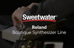 Roland Boutique TB-03 and TR-09 Demo by Sweetwater