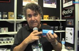 Radial StageBug SB-1 Acoustic DI Box – Sweetwater at Winter NAMM 2013