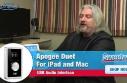 Apogee Duet for iPad and Mac Demo – Sweetwater's iOS...