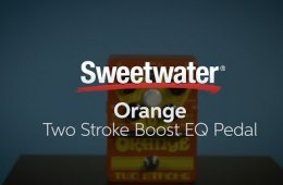 Orange Two Stroke Boost EQ Pedal Demo