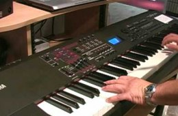 Yamaha S70XS synthesizer Summer NAMM demo