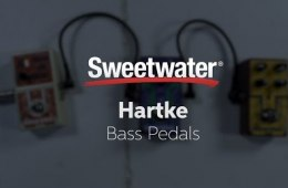 Hartke Bass Pedals Demo with Victor Wooten