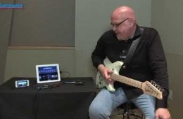 Line 6 Sonic Port iOS Audio Interface Demo at GearFest '13