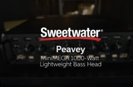 Peavey MiniMEGA 1000-watt Lightweight Bass Head
