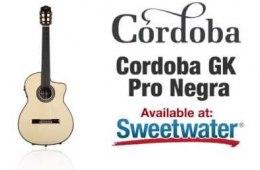 Cordoba GK Pro Negra Nylon-string Guitar Demo by Sweetwater