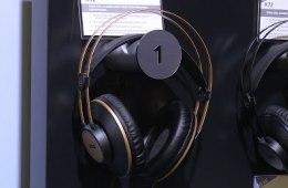 Winter NAMM 2016: AKG K92 Headphones
