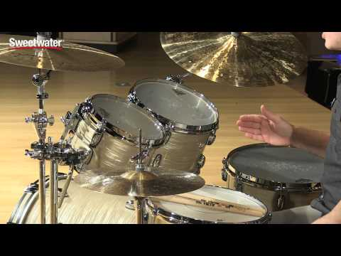 gretsch drums brooklyn 4 piece shell pack review by sweetwater sweetwater. Black Bedroom Furniture Sets. Home Design Ideas