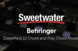 Behringer DeepMind 12 Chord and Poly Chord Modes