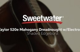 Taylor 520e Mahogany Dreadnought Acoustic-electric Guitar Review by...