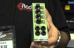 Radial SubMix 500 Series Line Mixer – Sweetwater at Winter NAMM 2013