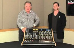 "API ""The Box"" Analog Recording Console Overview..."